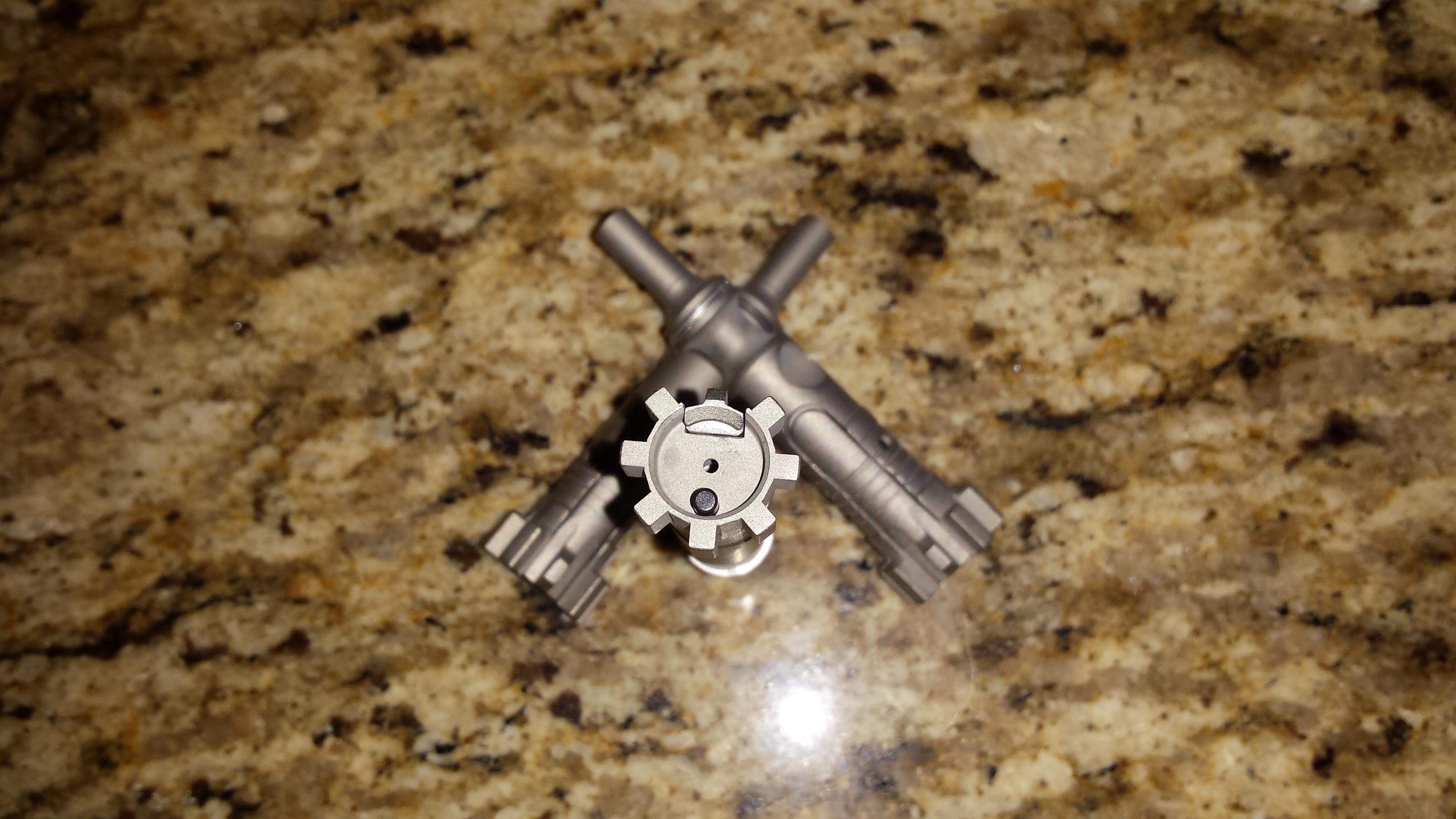 Complete 6.5 Grendel Bolt Nickel Boron